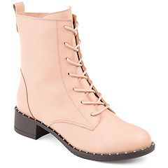 Journee Collection Yvonne Women's Lace-Up Combat Boots