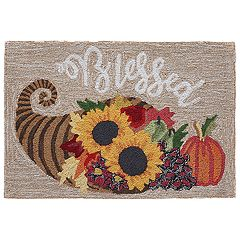 Liora Manne Frontporch Blessed Indoor Outdoor Rug
