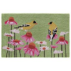 Liora Manne Frontporch Goldfinch Indoor Outdoor Rug