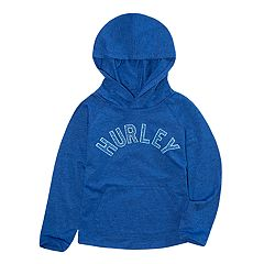 Toddler Boy Hurley Heathered Pull-Over Hoodie