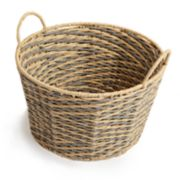 Round Chevron Storage Basket