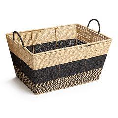 Market Collection Stripe Basket