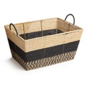 Market Collection Stripe Basket