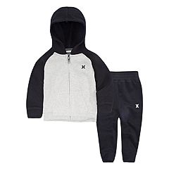 Toddler Boy Hurley Fleece Jacket & Pants Set