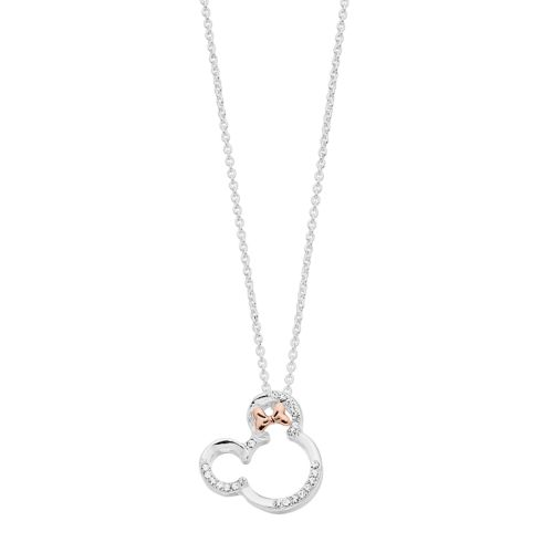 Disney's Minnie Mouse Crystal Bow Pendant Necklace by Kohl's