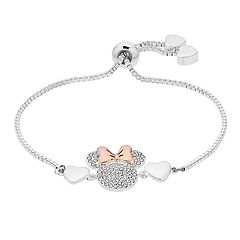 Disney's Minnie Mouse Two Tone Bolo Bracelet