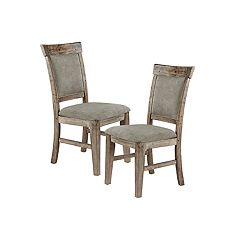 INK+IVY Oliver Dining Side Chair 2-piece Set