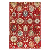 Liora Manne Calais Vintage Floral Plush Rug