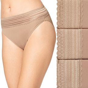 Women's Warner's 3-Pack No Pinching No Problems Hi-Cut Panty 5109J3