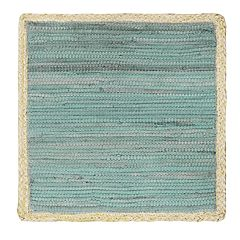 Food Network™ Jute Blue Chindi Square Placemat