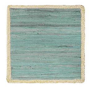 Food Network? Jute Blue Chindi Square Placemat