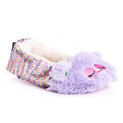 MUK LUKS Ollie Owl Girl's Slippers