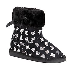 c2cbc2f45f75f MUK LUKS Madison Butterfly Girls  Winter Boots