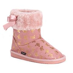 MUK LUKS Madison Butterfly Girls' Winter Boots