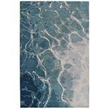Liora Manne Corsica Water Wool Rug