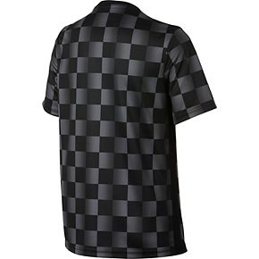 Boys Nike Checkered Graphic Tee
