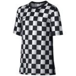 Boys Nike Checkered Graphic Tee