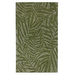 Liora Manne Savannah Olive Branches Wool Rug