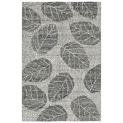 Liora Manne Savannah Leaf Wool Rug