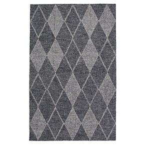 Liora Manne Savannah Diamond Geometric Wool Rug