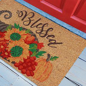 Liora Manne Natura Blessed Indoor Outdoor Coir Doormat - 18'' x 30''