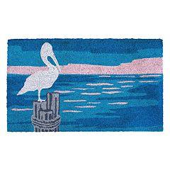 Liora Manne Natura Pelican Indoor Outdoor Coir Doormat - 18'' x 30''