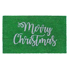 Liora Manne Natura Merry Christmas Indoor Outdoor Coir Doormat - 18'' x 30''