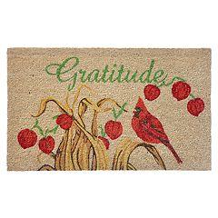 Liora Manne Natura Gratitude Indoor Outdoor Coir Doormat - 18'' x 30''