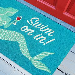 Liora Manne Natura Swim On In Indoor Outdoor Coir Doormat - 18'' x 30''