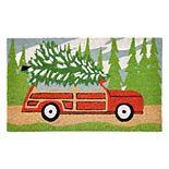Liora Manne Natura Tree Trip Indoor Outdoor Coir Doormat - 18'' x 30''