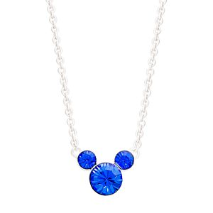 Disney's Mickey Mouse Crystal Necklace