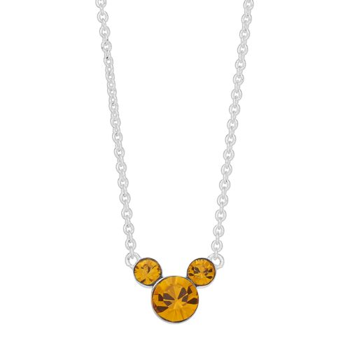Disney Mickey Mouse 90th Anniversary Birthstone Necklace by Kohl's
