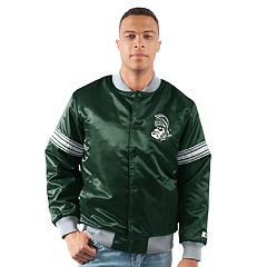 Men's Michigan State Spartans Draft Pick Bomber Jacket