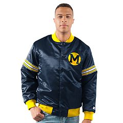 Men's Michigan Wolverines Draft Pick Bomber Jacket