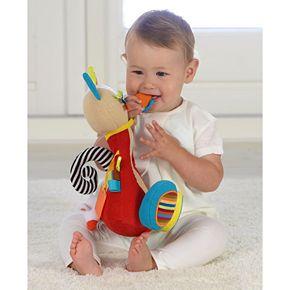 Dolce Plush Cat Activity Velour Plush Toy