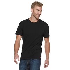 Men's Levi's® 3-pack + 1 Bonus Stretch Crewneck Tees