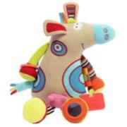 Dolce Plush Cow Activity Velour Plush Toy