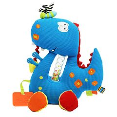 Dolce Plush Dinosaur Activity Velour Plush Toy