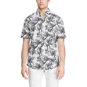 Men's Chaps Classic-Fit Short-Sleeve Button-Down Shirt