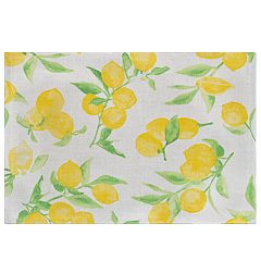 Food Network™ Lemon Printed Placemat