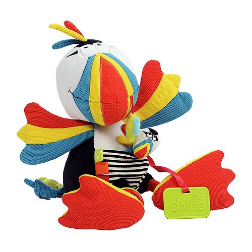 Dolce Plush Puffin Bird Activity Velour Plush Toy