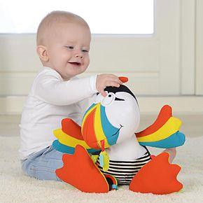 Dolce Plush Puffin Bird Activity Velour Plush Toy