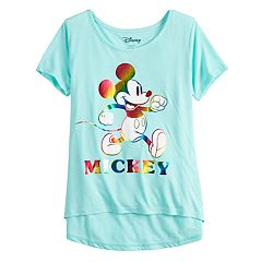 Disney's Mickey Mouse 90th Anniversary Girls 7-16 Classic Graphic Tee
