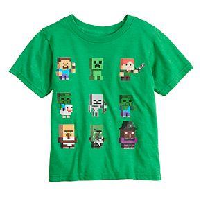 Boys 4-7 Minecraft Graphic Tee