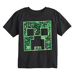 Boys 4-7 Camo Minecraft Graphic Tee