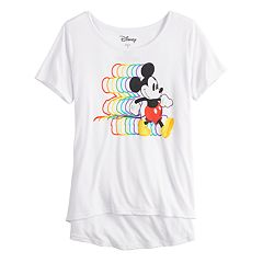 Disney's Mickey Mouse 90th Anniversary Girls 7-16 Mickey Stroll Graphic Tee