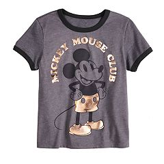 Disney's Mickey Mouse 90th Anniversary Mickey Mouse Club Ringer Tee