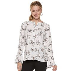 Women's Apt. 9® Bell Sleeve Blouse