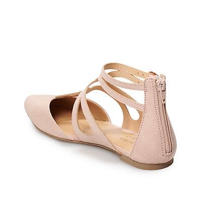 LC Lauren Conrad Macaroon Women's Flats