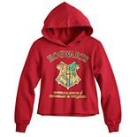 Girls 7-16 Harry Potter Hogwarts School of Witchcraft & Wizardry Cropped Hoodie